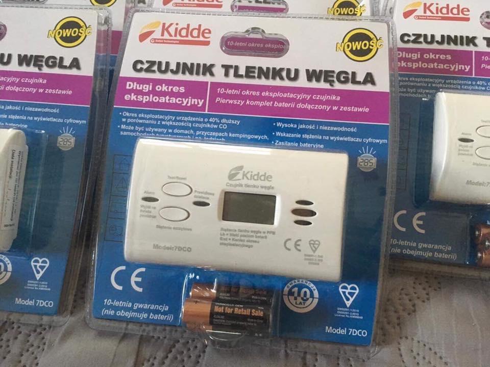 Weź udział w konkursie i wygraj czujkę tlenku węgla! - foto: FB OSP Tuliszków