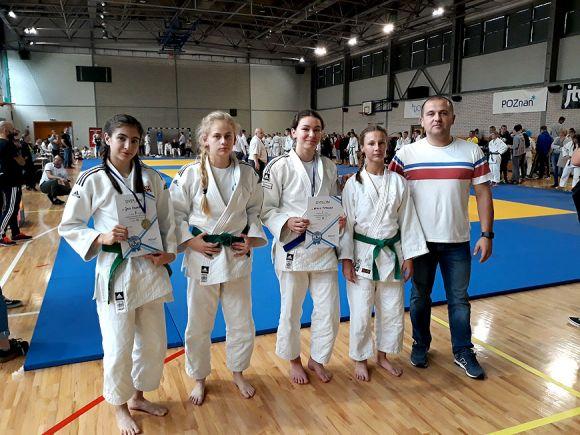 Judocy z UKS Tuliszków na Mistrzostwach Młodzików