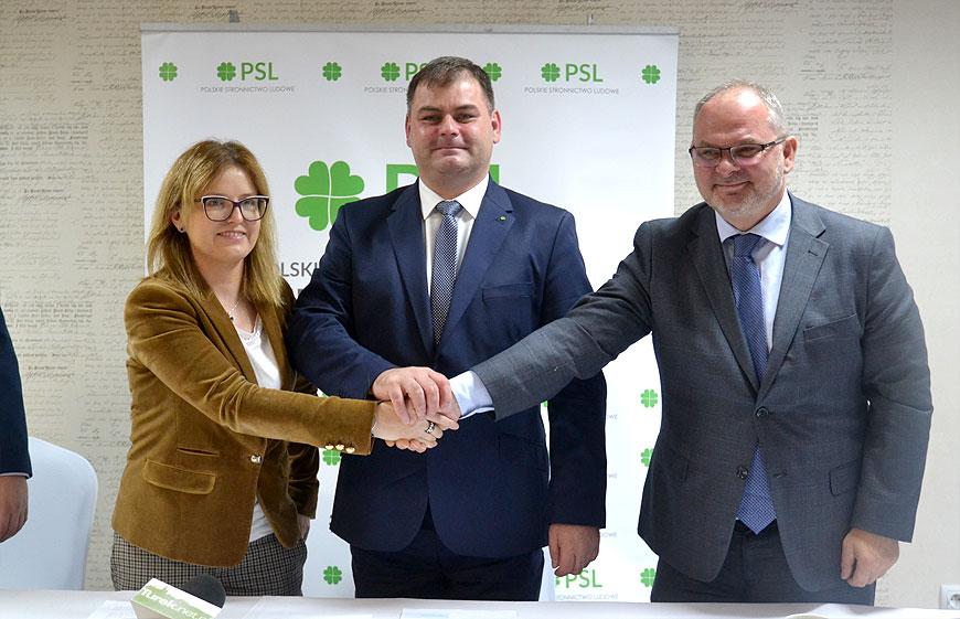 Wideo: PSL przedstawia program wyborczy i deklaruje poparcie dla Macieja Sytka