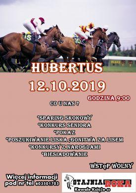 Hubertus w stajni ROKA 2019