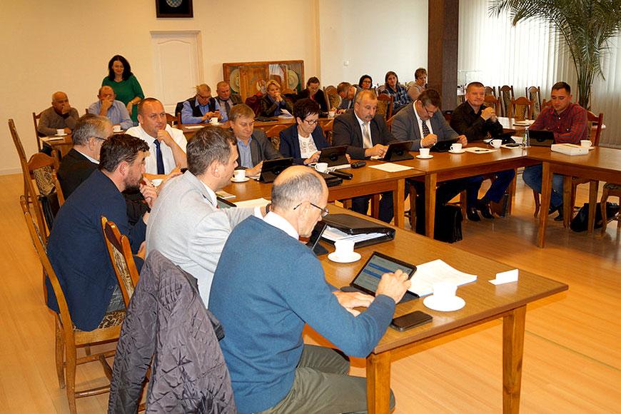 XIII Sesji Rady Gminy Władysławów - foto: UG Władysławów