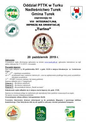 VIII Integracyjną Imprezę na orientację