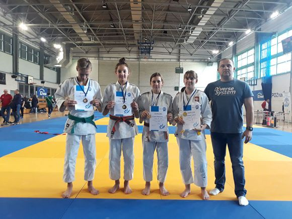 Dwa złota i dwa brązy zdobyli Judocy z UKS Judo...