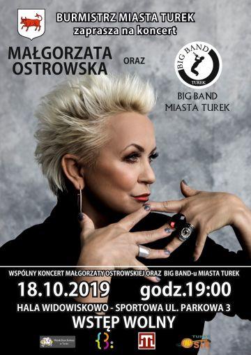 Wideo: Legenda polskiego rocka Małgorzata Ostrowska i Big Band Turku zapraszają na koncert
