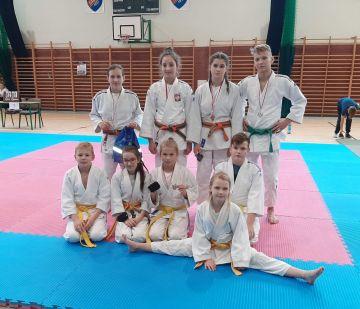 UKS Judo Tuliszków na turnieju w Rawiczu