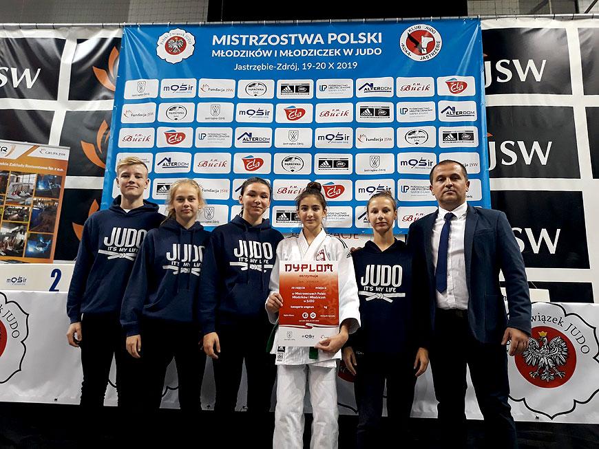 Sukces zawodników UKS Judo z Tuliszkowa na Mistrzostwach Polski Młodzików