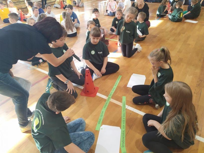 Międzyszkolny  turniej  ekologiczny w SP4