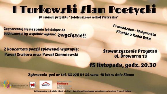 I Turkowski Slam Poetycki