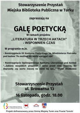 15 Gala Poetycka w Przystani