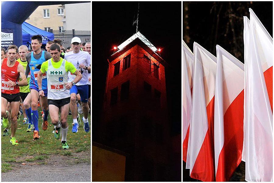 Uroczystości i imprezy rekreacyjno-sportowe w całym powiecie na 101. rocznicę odzyskania niepodległości.