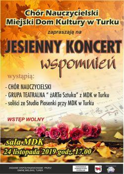 Jesienny Koncert Wspomnień