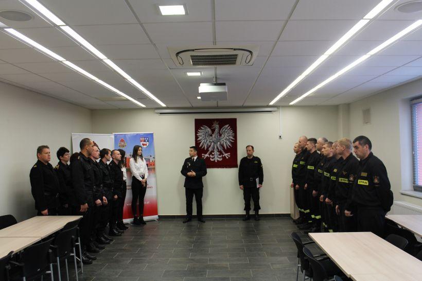 Nagródy dla pracowników korpusu służby cywilnej - foto: PSP Turek