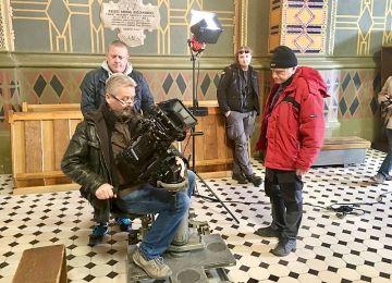 Wideo: Zakończono prace nad dokumentem fabularyzowanym o Józefie Mehofferze - Zdjęcia realizowane były w Turku - foto: Muzeum Turek