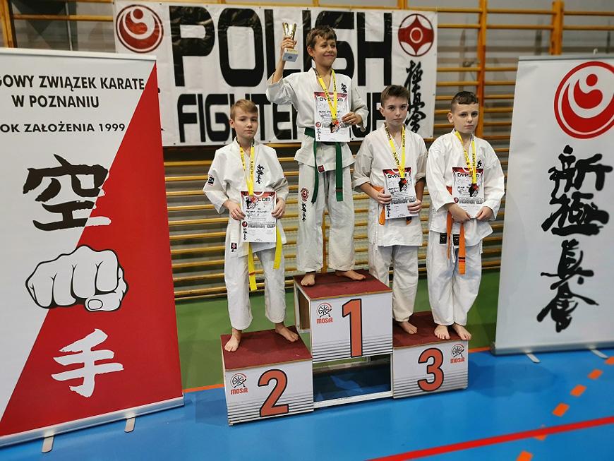 Karatecy z Tuliszkowa znowu na podium.