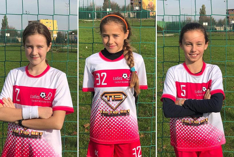 3 zawodniczki Ladies Football Academy Turek powołane do kadry.