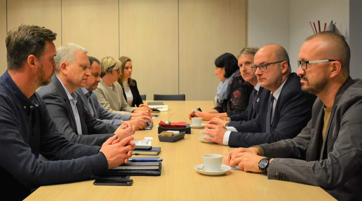 Spotkanie władz miasta i powiatu z Zarządem PROFIm