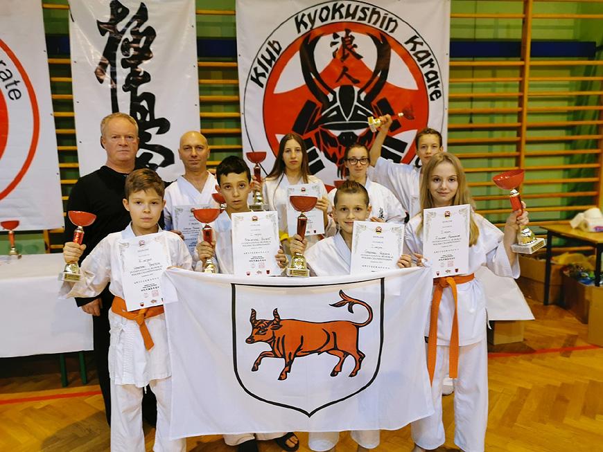 Świetny występ karateków z Turku.