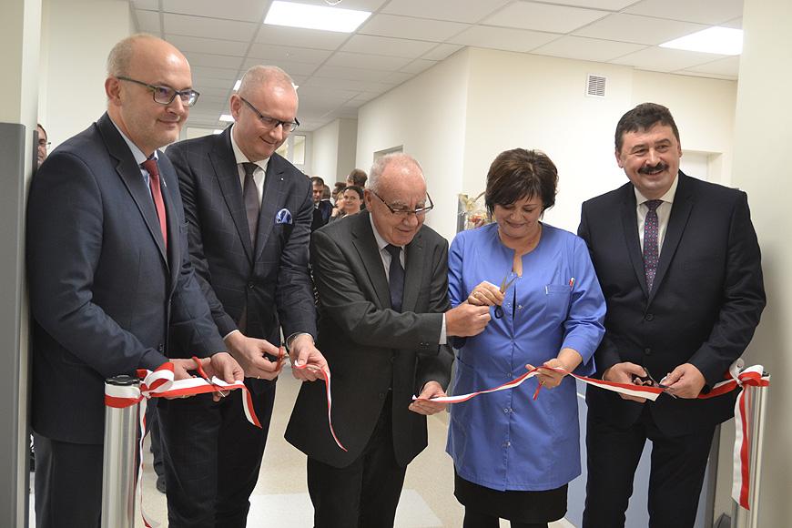 Szpital z wyremontowanym Oddziałem Chorób Wewnętrznych. Wspólny sukces dwóch zarządów.