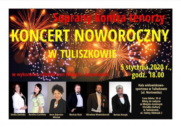 Koncert Noworoczny 2020  -  Soprany kontra Tenorzy w Tuliszkowie