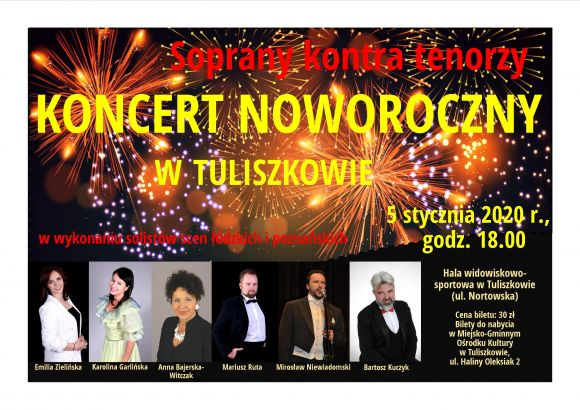 Koncert Noworoczny 2020  -  Soprany kontra...
