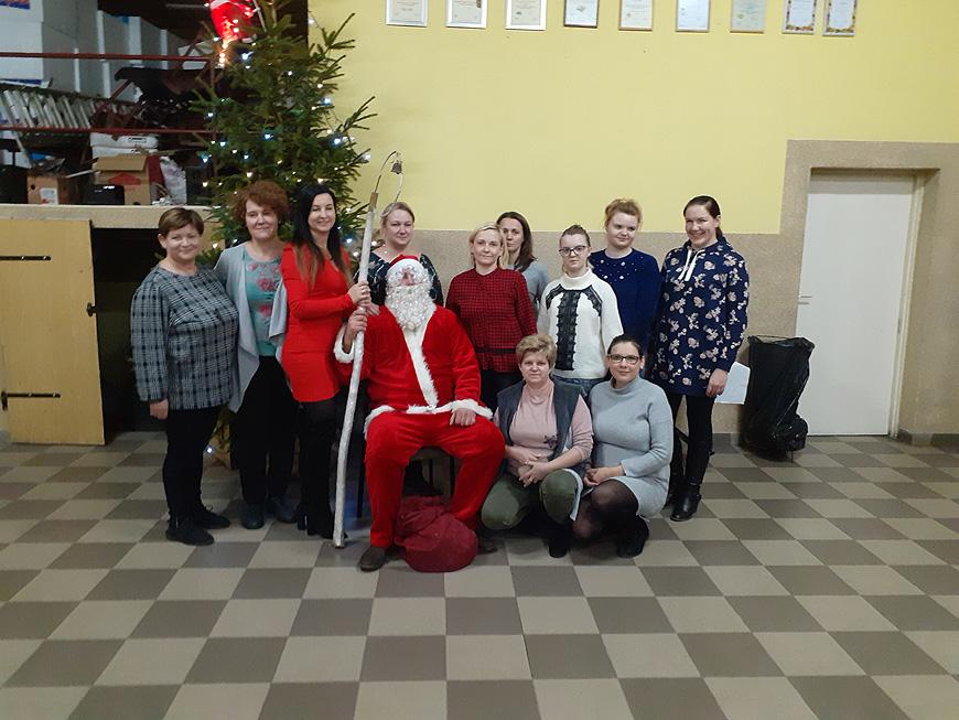 Bożonarodzeniowe warsztaty w Wojciechowie.