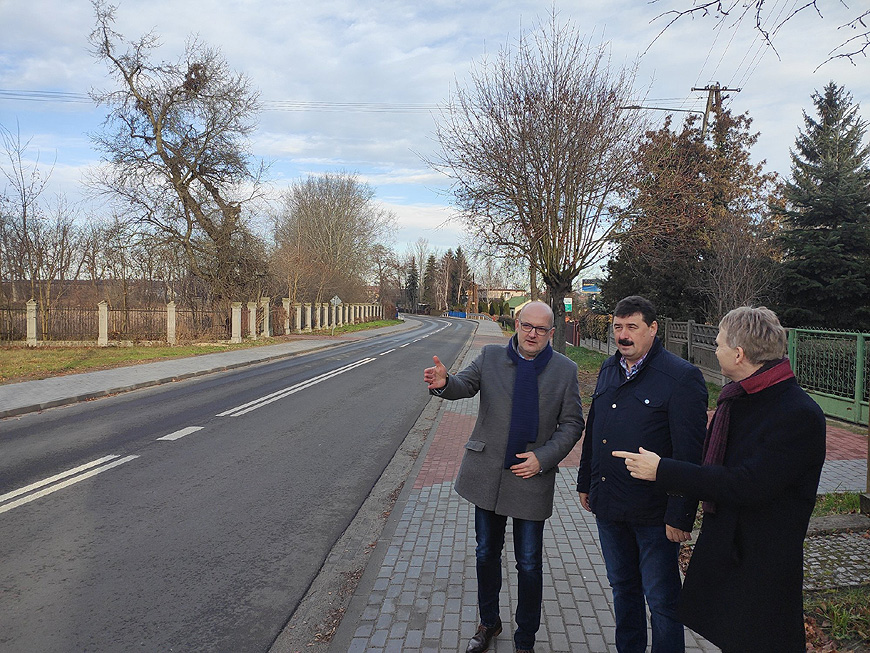 Ul. Kolska w Brudzewie wyremontowana.