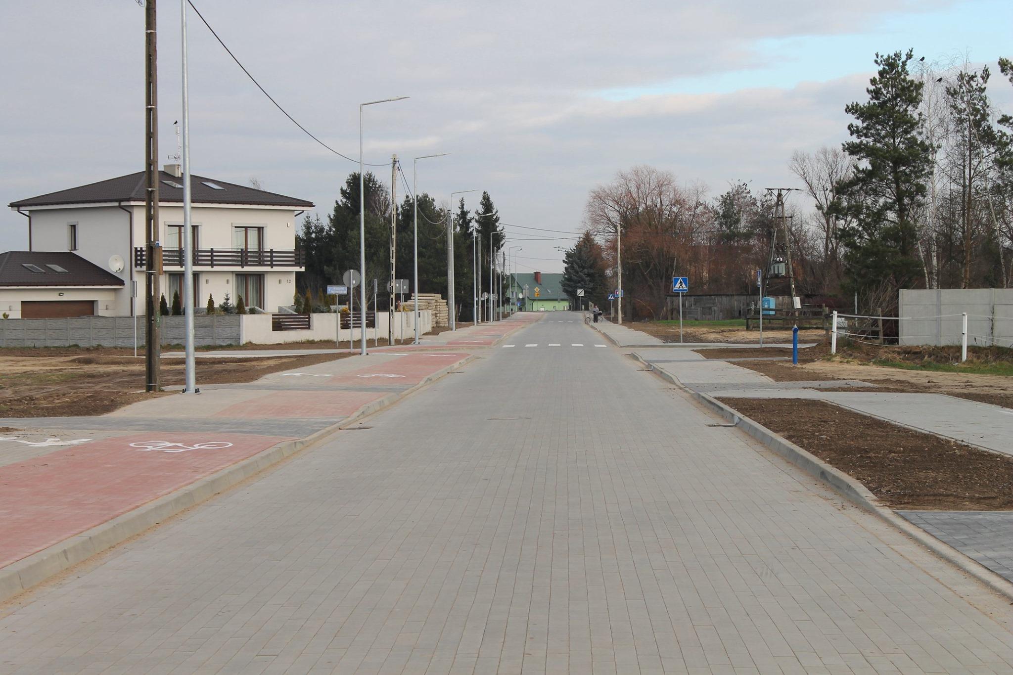 Nowo wybudowana ul. Leśna gotowa. Budowa kosztowała 2,77 mln zł.