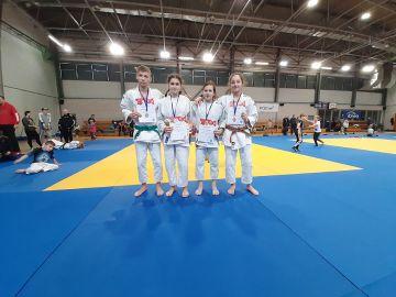 Medale dla judoków z Tuliszkowa.