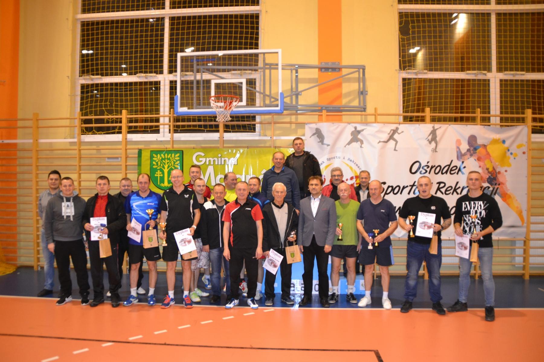 Tenisiści grali o Puchar Wójta Malanowa
