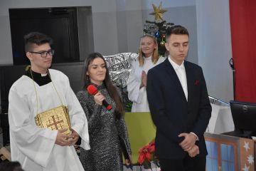 Jasełka w Zespole Szkół Technicznych.