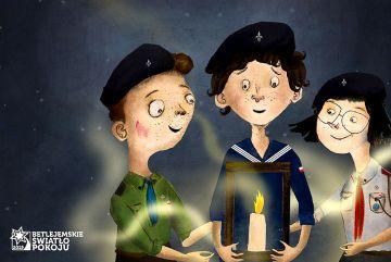 Światło, które daje moc - Betlejemskie Światło...