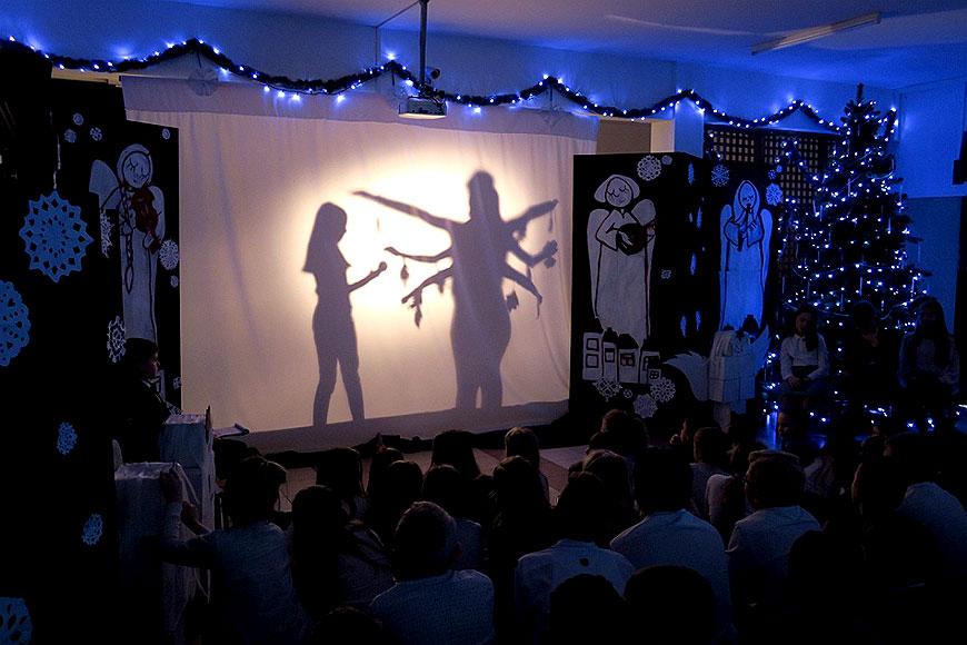 Poetyckie, plastyczne i muzyczne Jasełka w Szkole Podstawowej w Przykonie