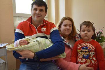 Julitka - pierwsza mieszkanka powiatu w 2020 roku.