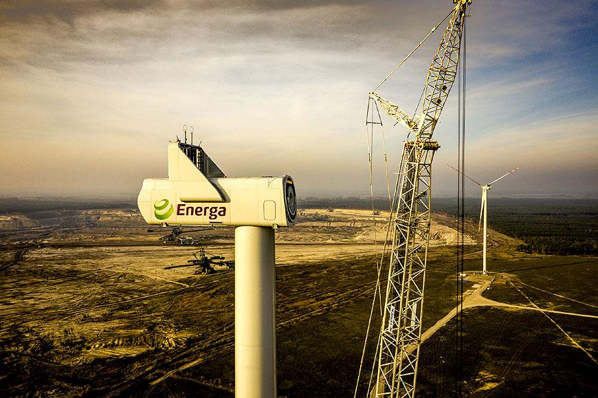 Farma wiatrowa Energi w Przykonie wygrała aukcję OZE