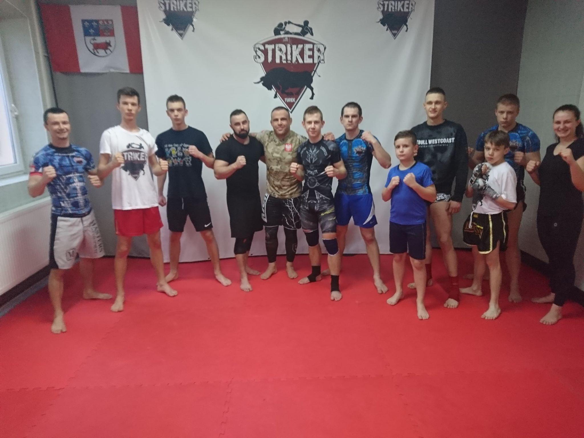 Seminarium MMA w klubie Striker Turek