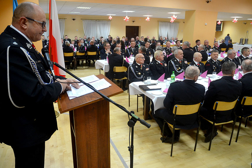 Strażacy ochotnicy podsumowali 2019 rok podczas spotkania opłatkowego w Kowalach Księżych - foto: MS