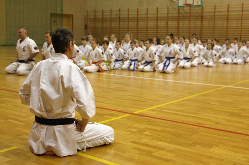 Ponad 70 karateków wzięło udział w egzaminie uczniowskim.