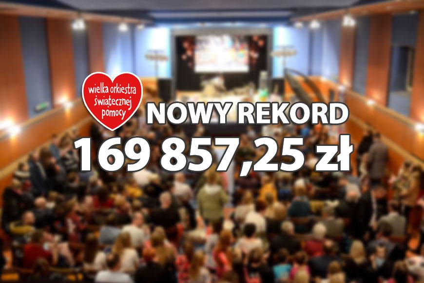 Nowy turkowski rekord WOŚP pobity! Zebrano 169 857 zł