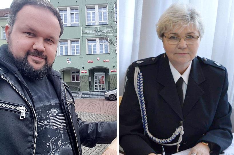 Elżbieta Karwacka nowym dyrektorem ZSR w Kaczkach Średnich. Krzysztof Świerk odchodzi  - foto: FB Krzysztof Świerk / OSP Brudzew na facebook