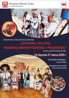 Spotkanie z kulturą indiańską ameryki północnej i południowej