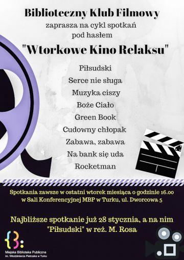 BKF: Wtorkowe kino relaksu - Piłsudski