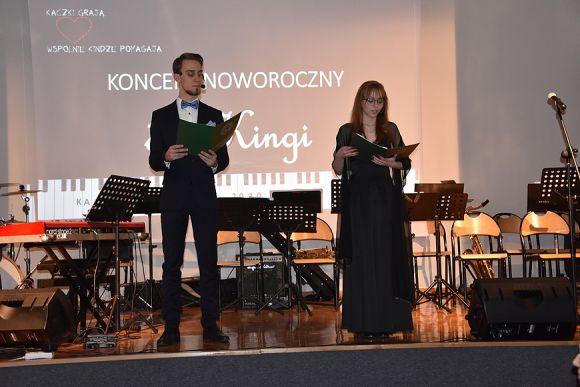 Licytacje i piękne piosenki czyli koncert...