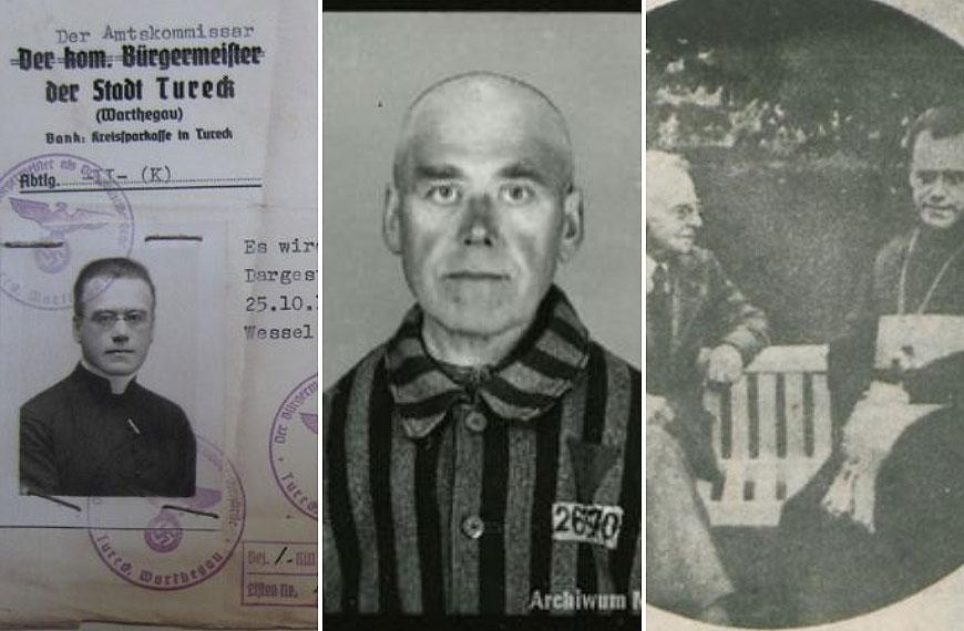 Nasza historia: Rektor kościoła polskiego w Rzymie - ks. prał. Józef Florczak - więzień Auschwitz