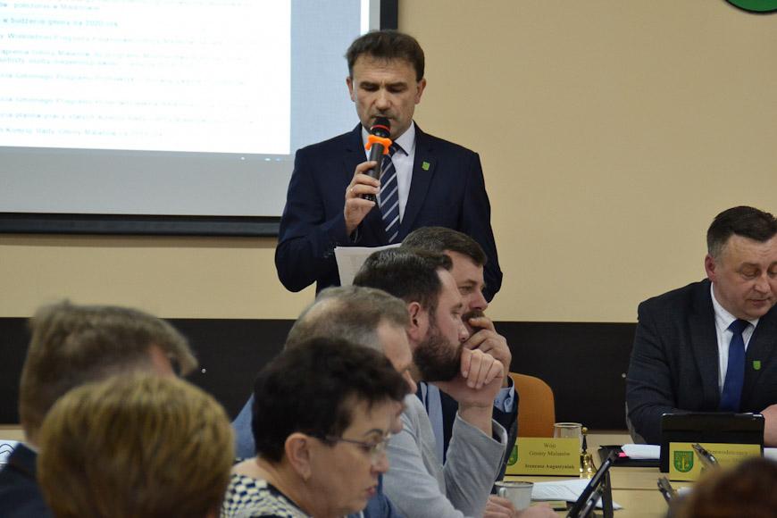 Pierwsza sesja Rady Gminy Malanów w 2020 roku. Szkoła w Kotwasicach do likwidacji - fot. UG Malanów