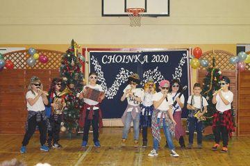 Karnawałowa zabawa w Szkole Podstawowej w Chylinie