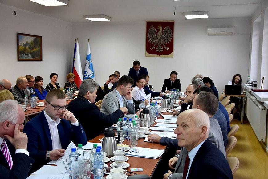 XV sesja Rady Gminy Przykona - foto: UG przykona