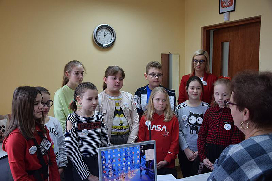 Wyjątkowe odwiedziny w Urzędzie Gminy w Tuliszkowie. - foto: UG Tuliszków