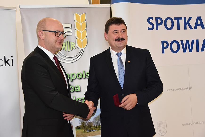 Ryszard Bartosik człowiekiem roku 2019 czyli Gala Powiatu Tureckiego.