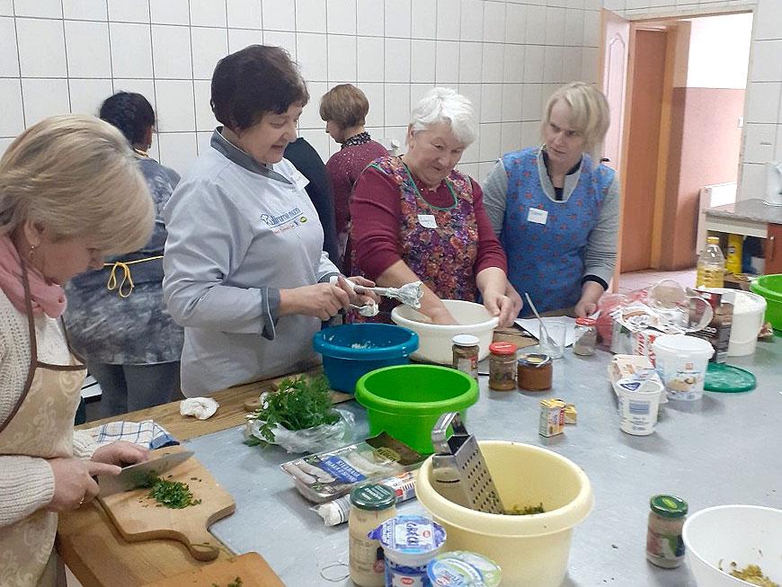 Warsztaty kulinarne dla mieszkańców Brudzewa - fot. UG Brudzew