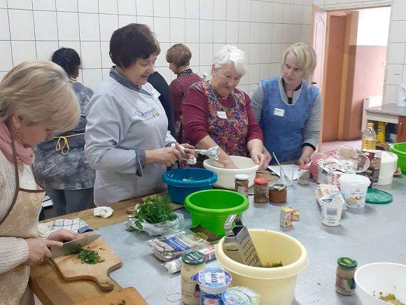 Warsztaty kulinarne dla mieszkańców Brudzewa